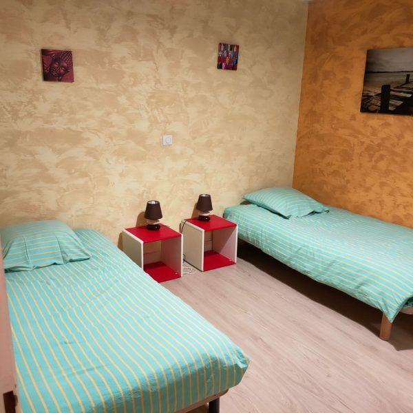 chambre lits simple bis